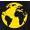 small globe icon